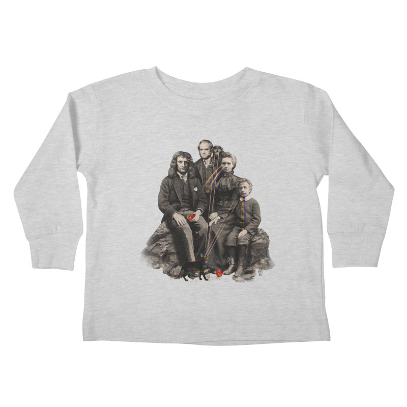 Family Portrait Kids Toddler Longsleeve T-Shirt by nicebleed