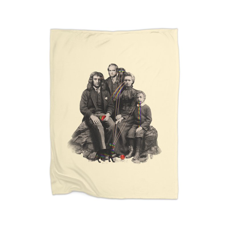 Family Portrait Home Fleece Blanket by nicebleed