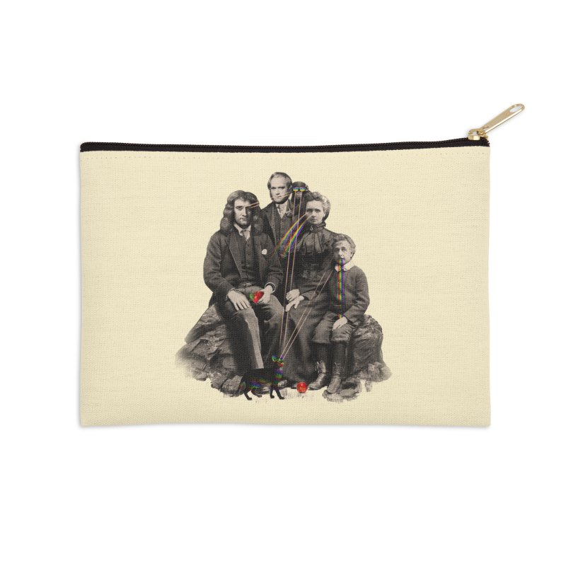 Family Portrait Accessories Zip Pouch by nicebleed