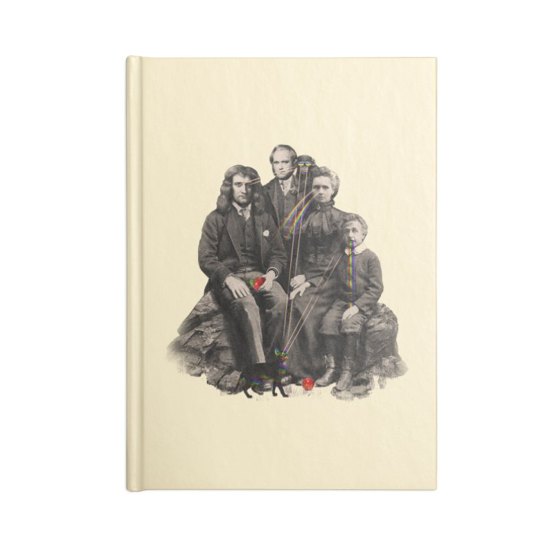 Family Portrait Accessories Notebook by nicebleed