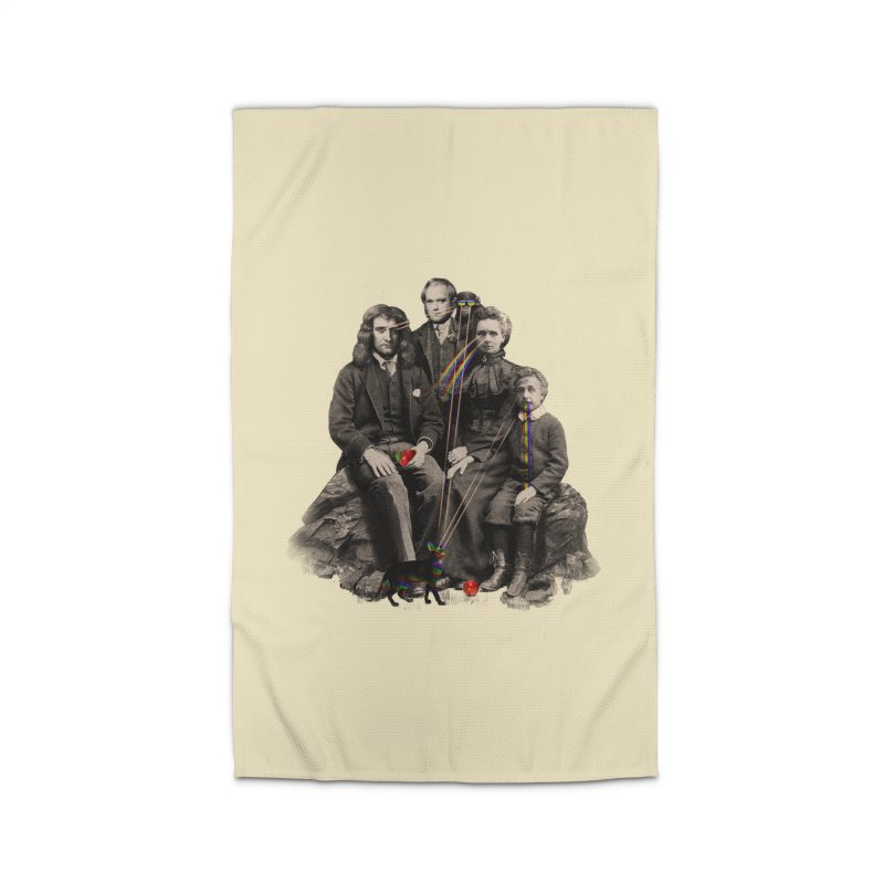 Family Portrait Home Rug by nicebleed