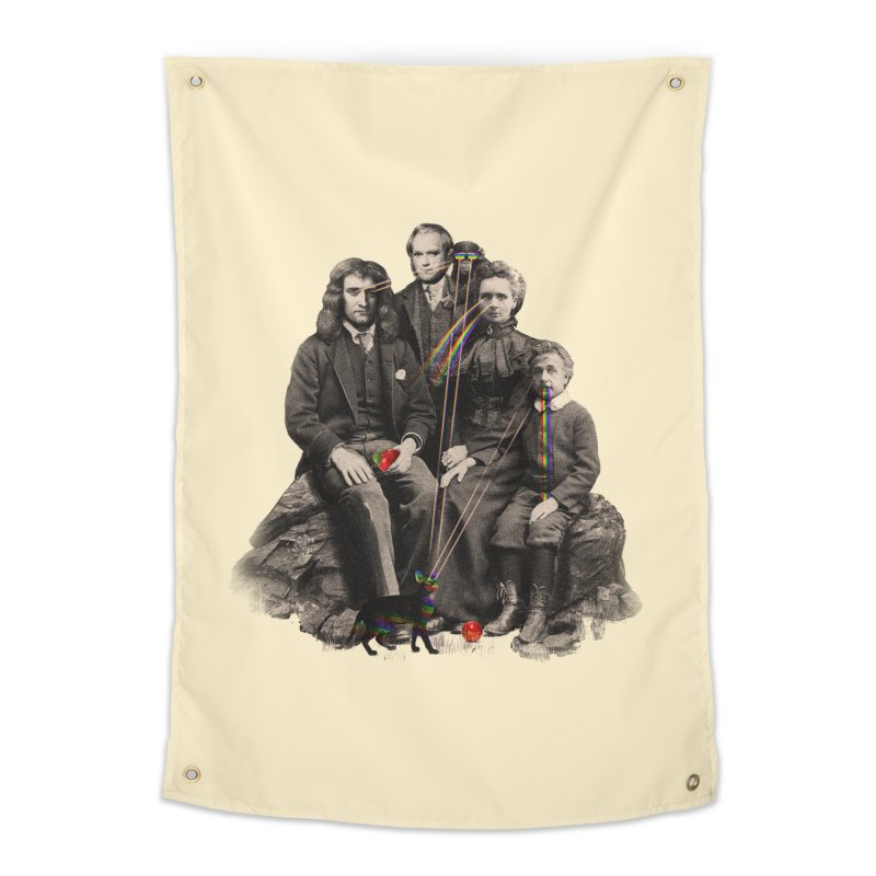 Family Portrait Home Tapestry by nicebleed