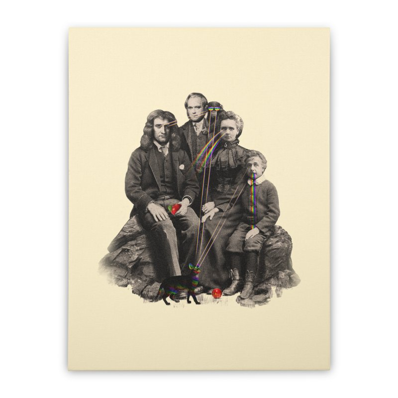 Family Portrait Home Stretched Canvas by nicebleed