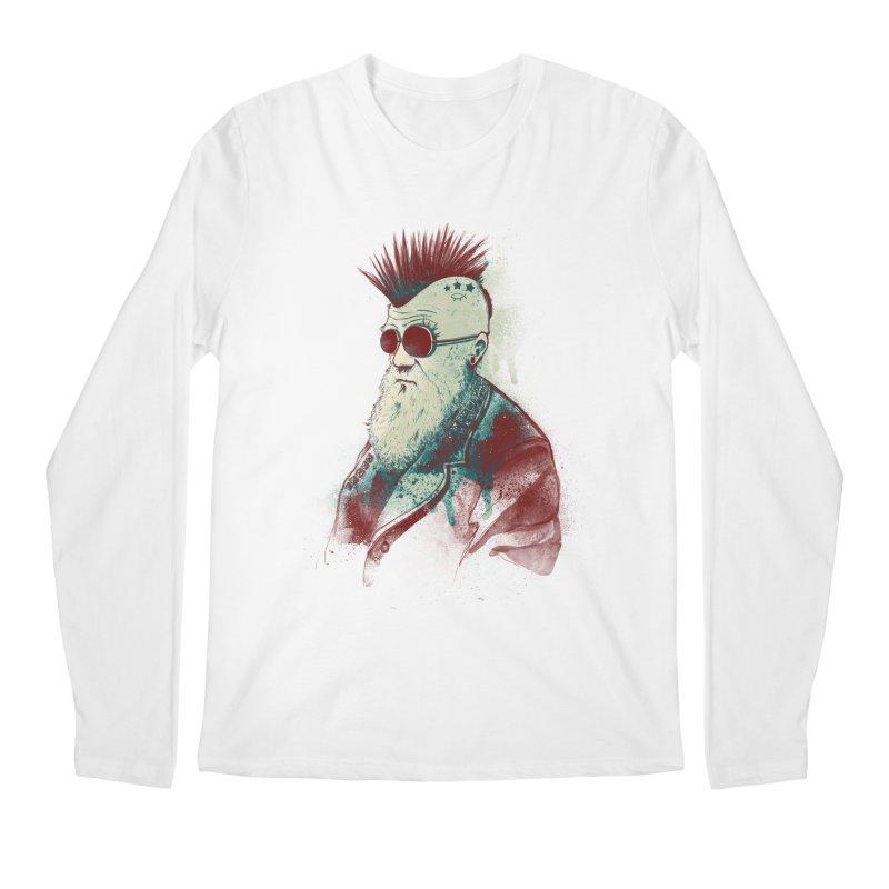 Evolution of Charles Men's Longsleeve T-Shirt by nicebleed