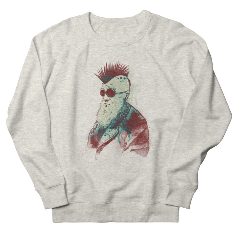 Evolution of Charles Women's Sweatshirt by nicebleed