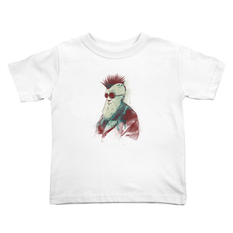 Evolution of Charles Kids Toddler T-Shirt by nicebleed