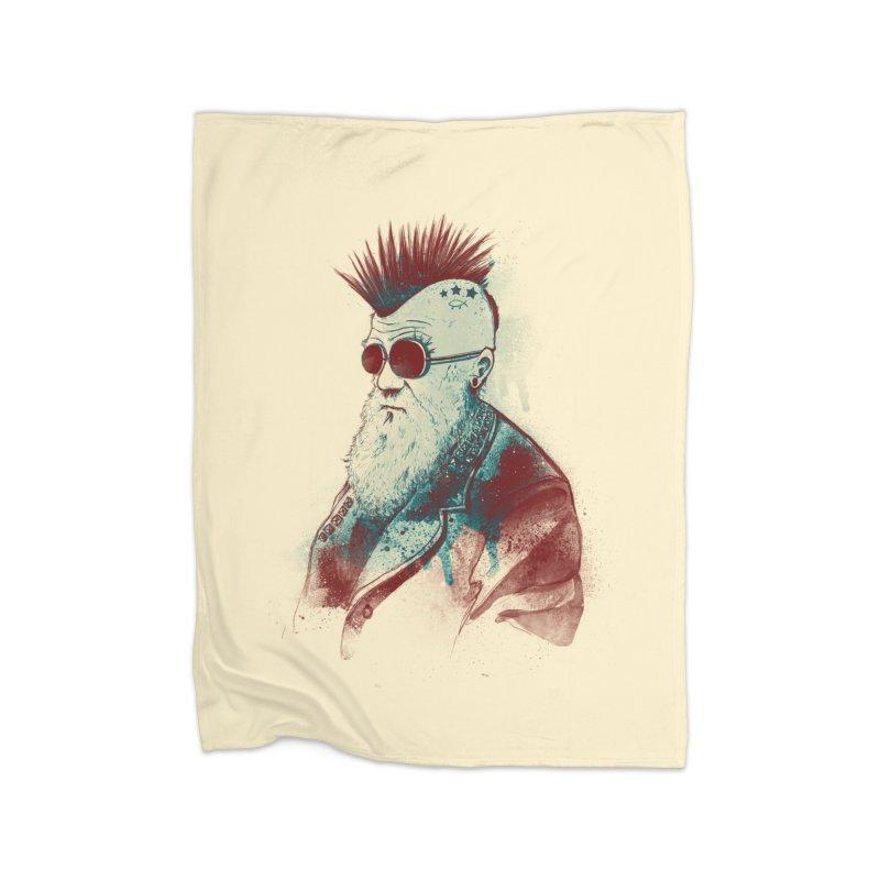 Evolution of Charles Home Fleece Blanket by nicebleed