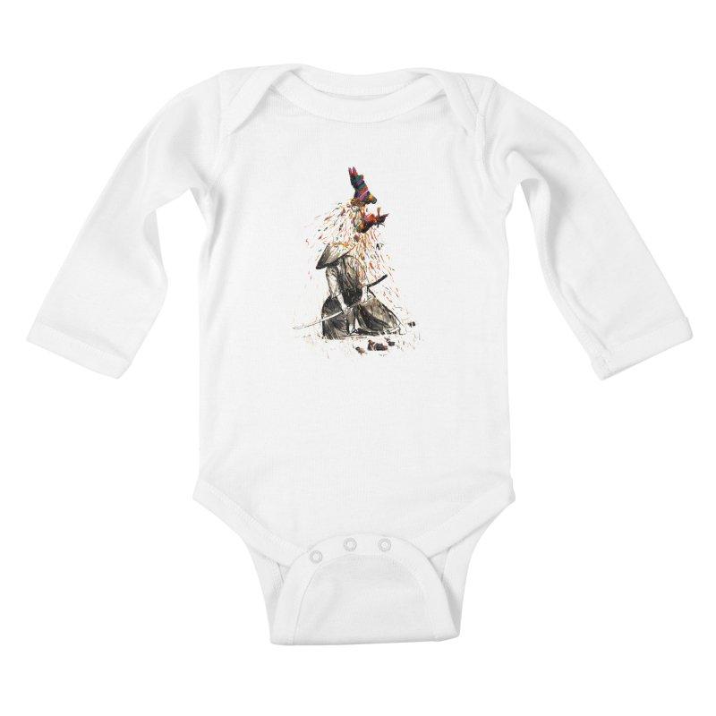 Target Practice Kids Baby Longsleeve Bodysuit by nicebleed