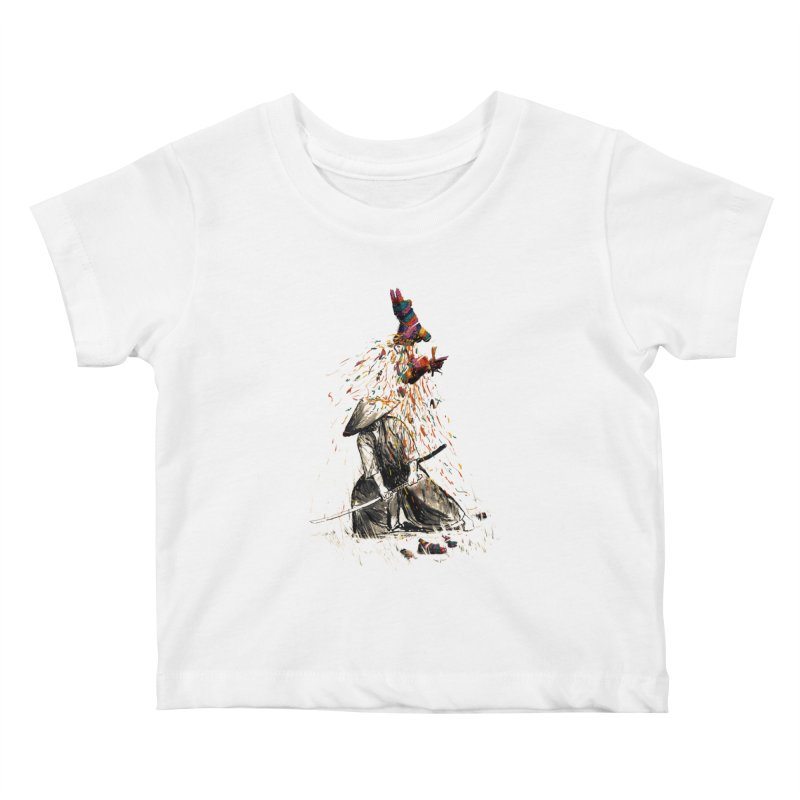 Target Practice Kids Baby T-Shirt by nicebleed