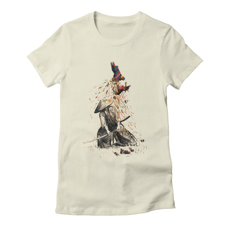 Target Practice Women's Fitted T-Shirt by nicebleed