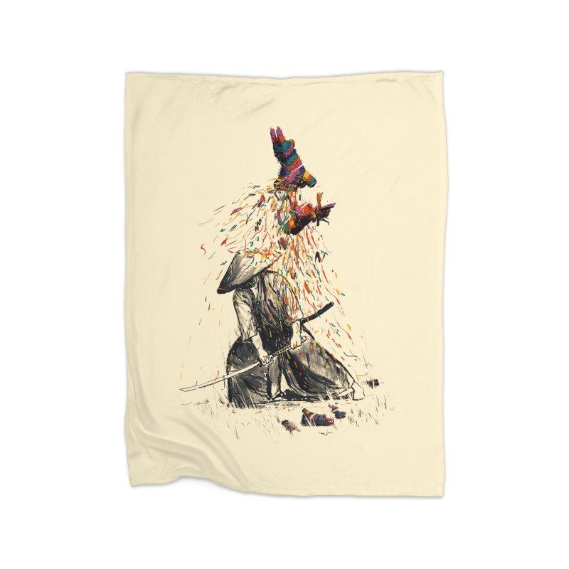 Target Practice Home Fleece Blanket by nicebleed