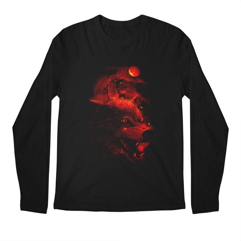 Red Dream Men's Longsleeve T-Shirt by nicebleed