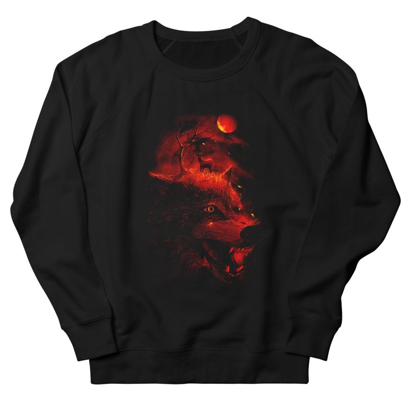 Red Dream Women's Sweatshirt by nicebleed