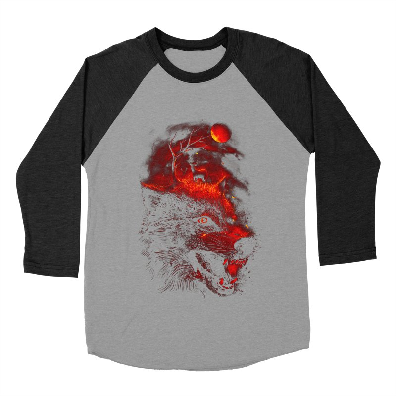 Red Dream Women's Baseball Triblend T-Shirt by nicebleed