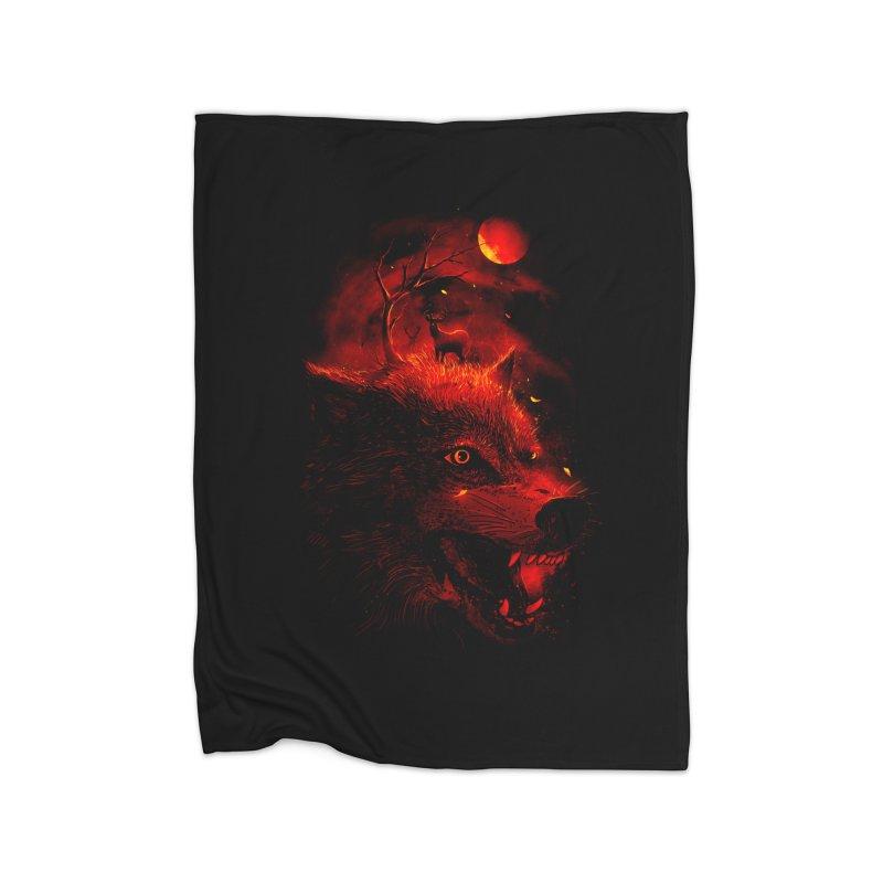 Red Dream Home Blanket by nicebleed