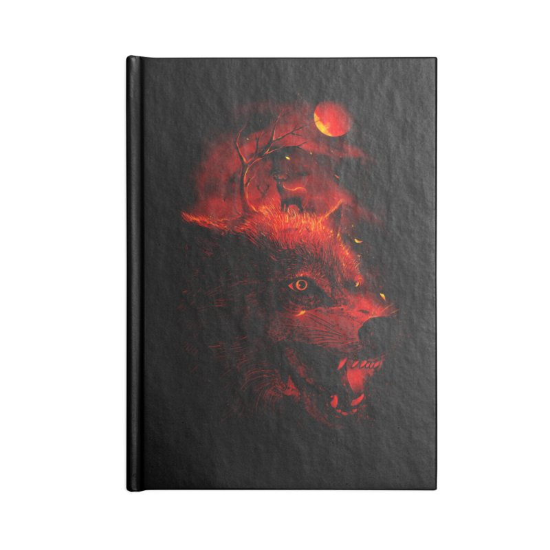 Red Dream Accessories Notebook by nicebleed