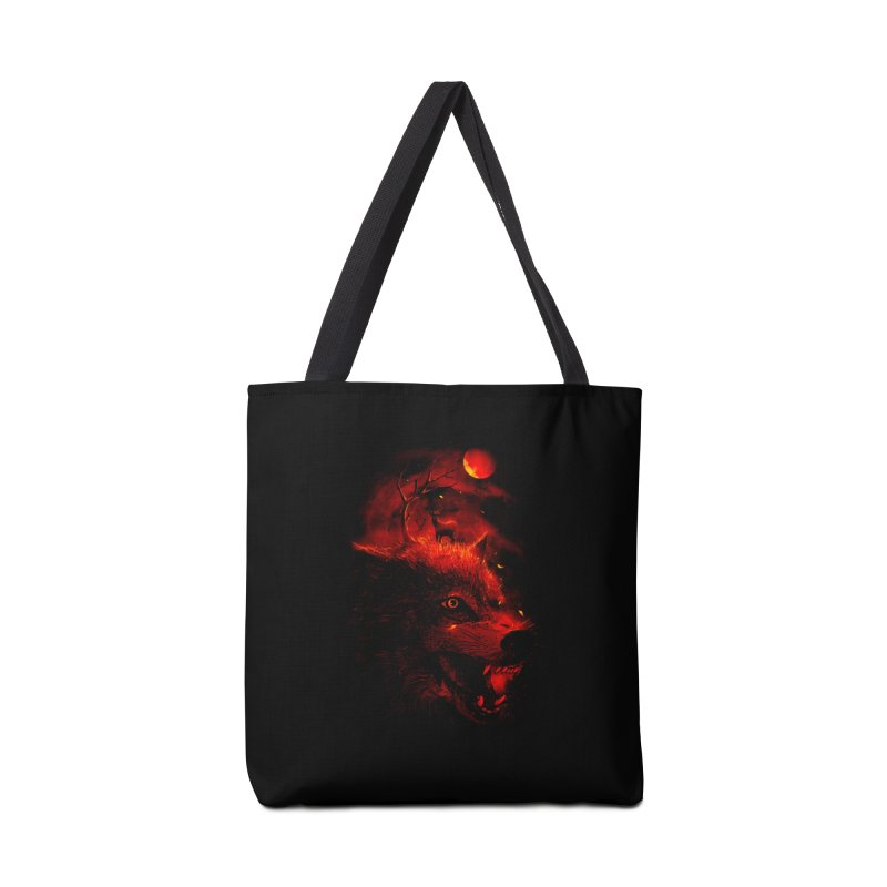 Red Dream Accessories Bag by nicebleed