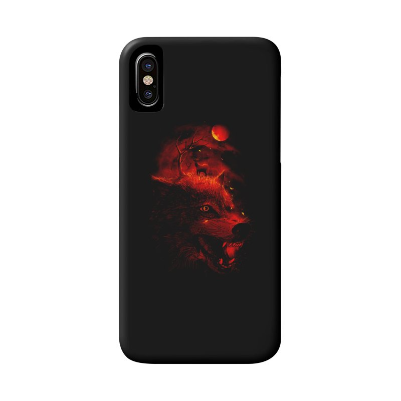 Red Dream Accessories Phone Case by nicebleed