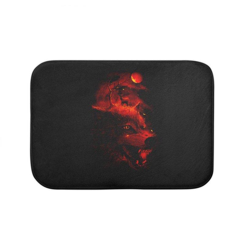 Red Dream Home Bath Mat by nicebleed