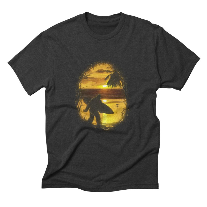 Secret Spot Men's Triblend T-shirt by nicebleed