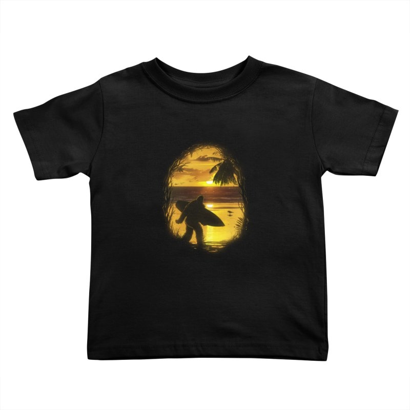 Secret Spot Kids Toddler T-Shirt by nicebleed