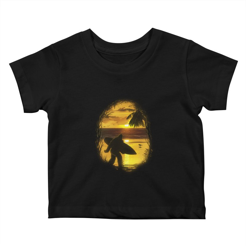 Secret Spot Kids Baby T-Shirt by nicebleed