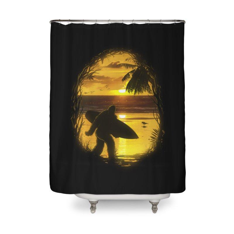 Secret Spot Home Shower Curtain by nicebleed