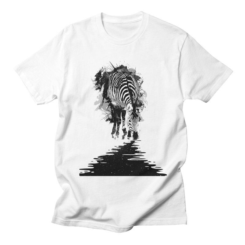 Stripe Charging Men's T-shirt by nicebleed