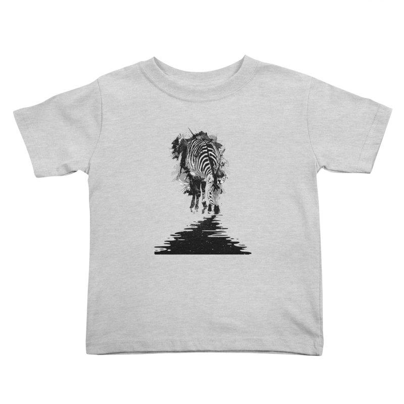 Stripe Charging Kids Toddler T-Shirt by nicebleed