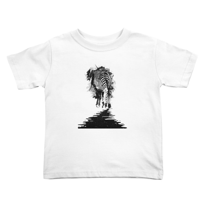 Stripe Charging Kids Toddler T-Shirt by nicebleed