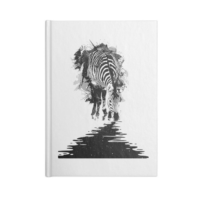 Stripe Charging Accessories Notebook by nicebleed