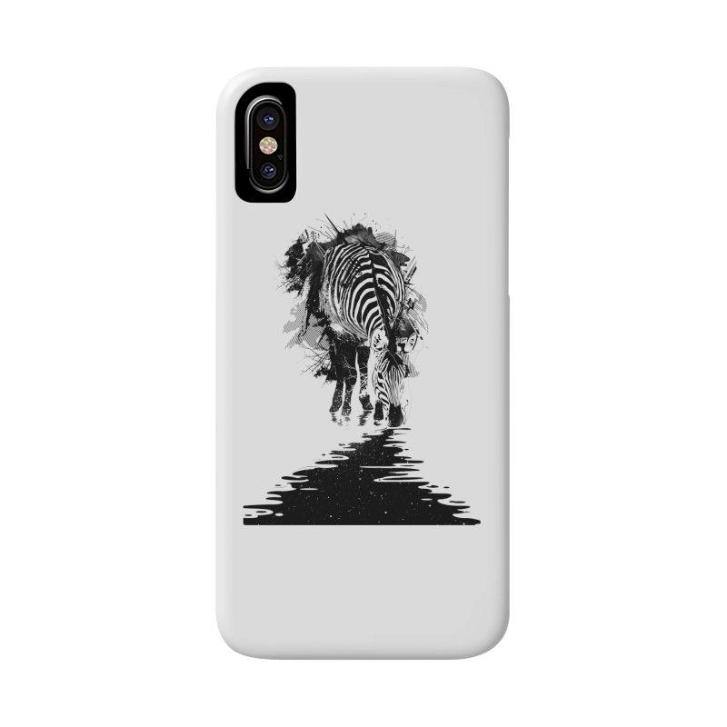 Stripe Charging Accessories Phone Case by nicebleed