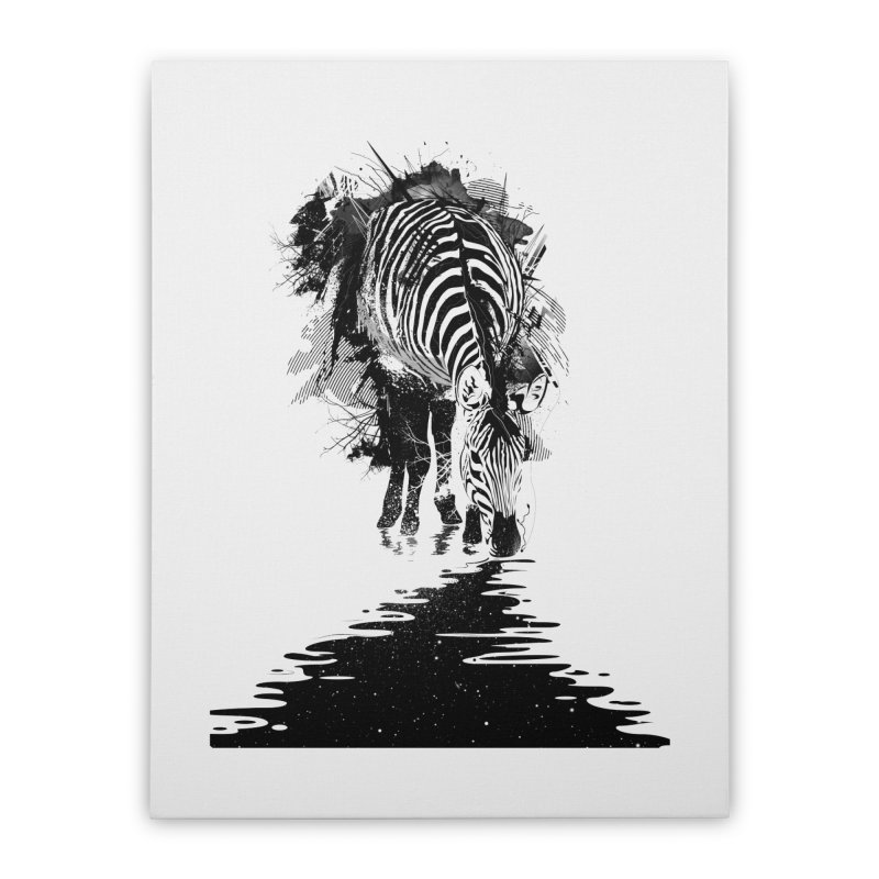 Stripe Charging Home Stretched Canvas by nicebleed