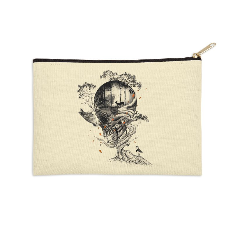Lost Translation Accessories Zip Pouch by nicebleed