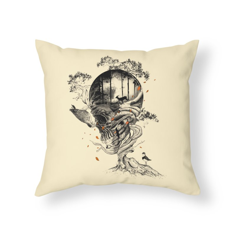 Lost Translation Home Throw Pillow by nicebleed