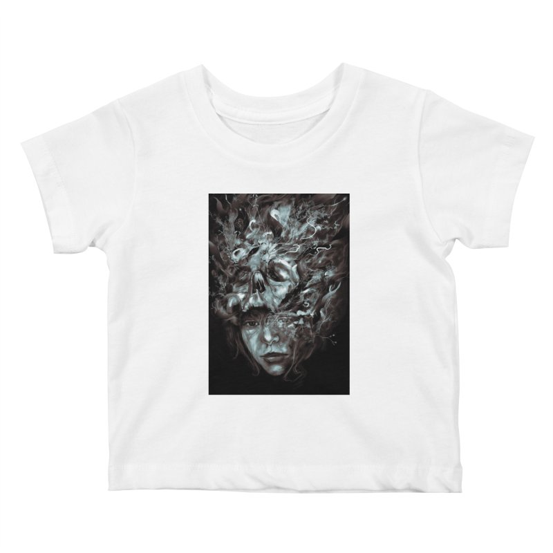 Empress Death Kids Baby T-Shirt by nicebleed