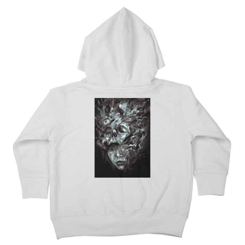 Empress Death Kids Toddler Zip-Up Hoody by nicebleed