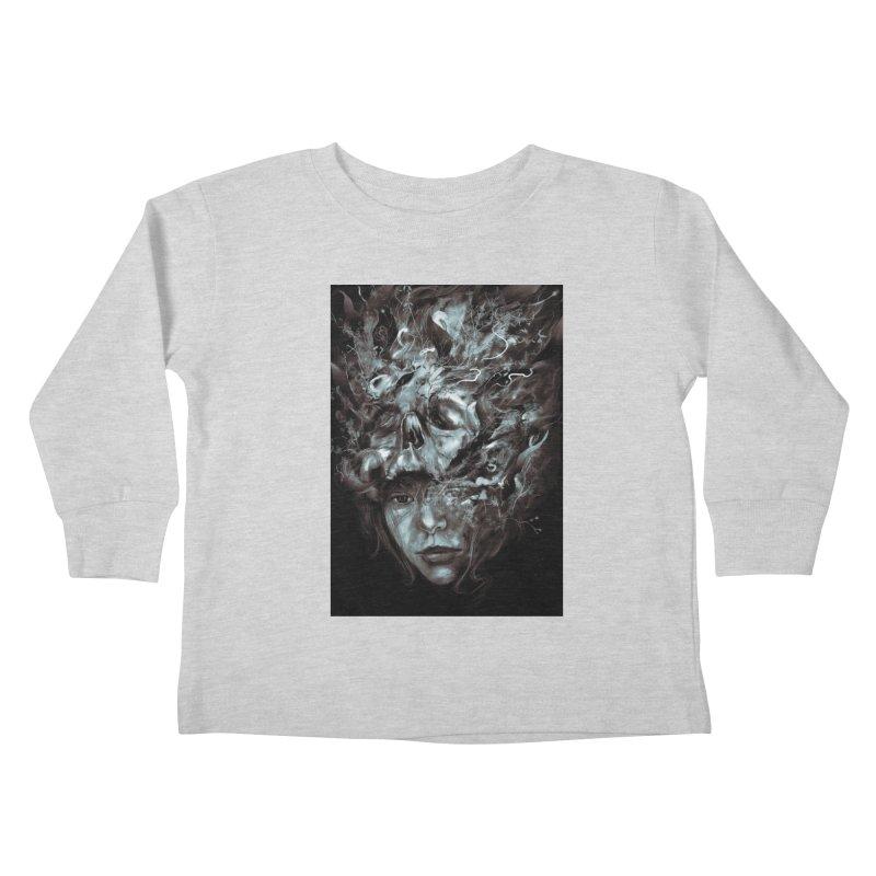 Empress Death Kids Toddler Longsleeve T-Shirt by nicebleed