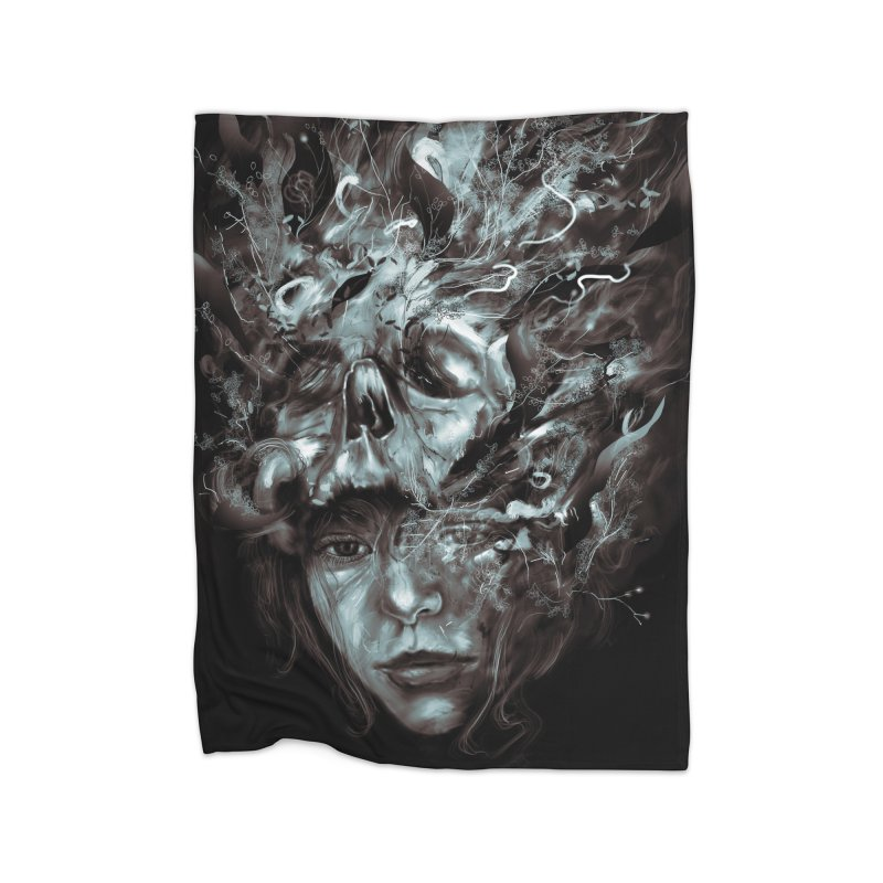 Empress Death Home Fleece Blanket by nicebleed