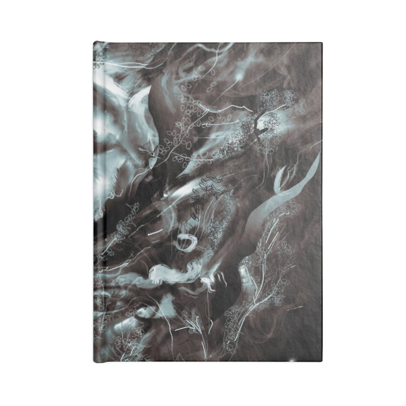 Empress Death Accessories Notebook by nicebleed
