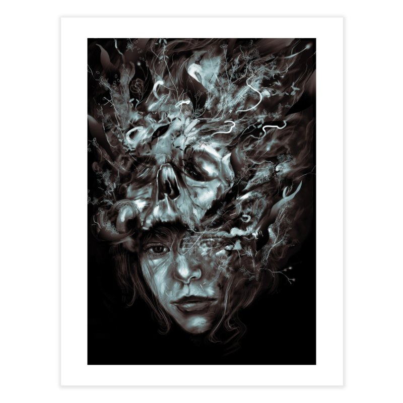 Empress Death Home Fine Art Print by nicebleed