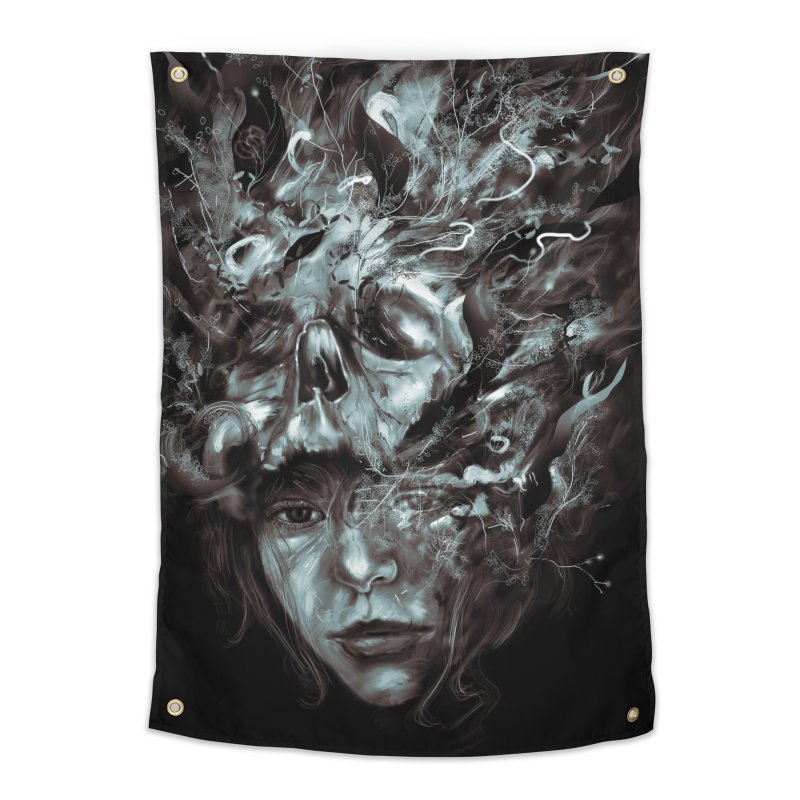 Empress Death Home Tapestry by nicebleed