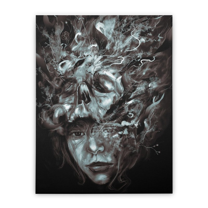 Empress Death Home Stretched Canvas by nicebleed
