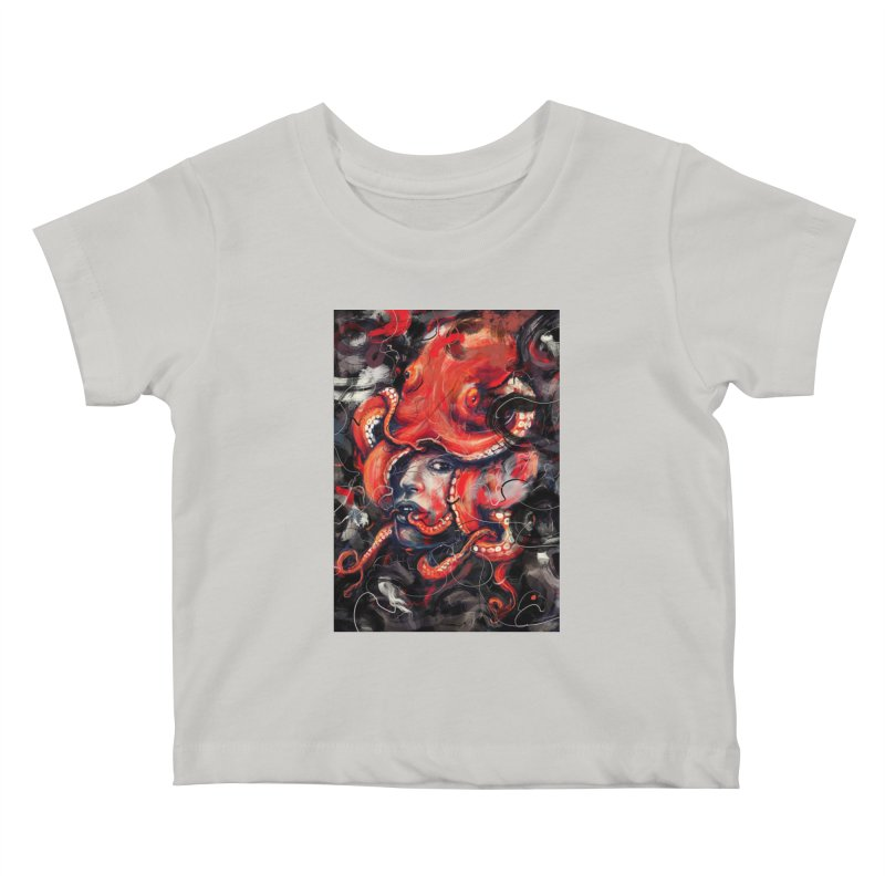 Empress Octo Kids Baby T-Shirt by nicebleed