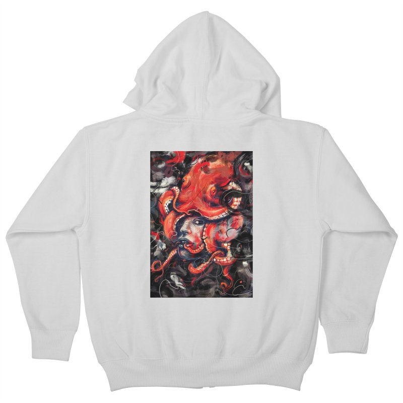 Empress Octo Kids Zip-Up Hoody by nicebleed