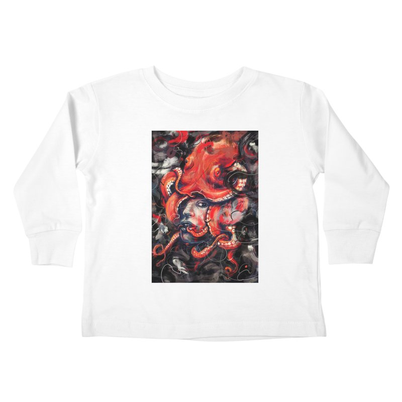 Empress Octo Kids Toddler Longsleeve T-Shirt by nicebleed