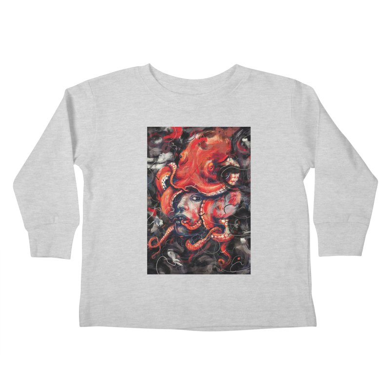 Empress Octo Kids Toddler Longsleeve T-Shirt by nicebleed