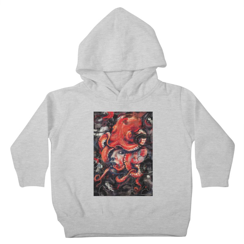 Empress Octo Kids Toddler Pullover Hoody by nicebleed