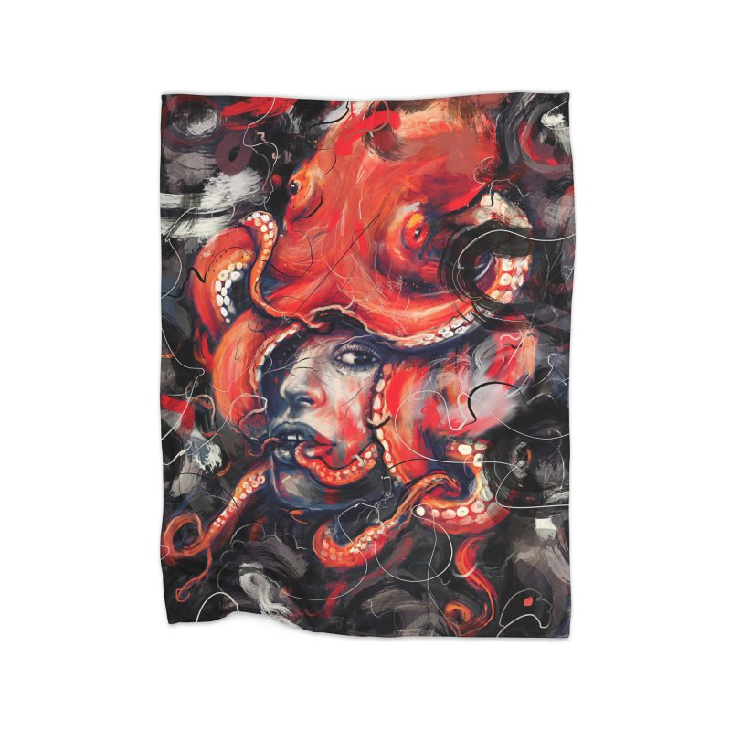 Empress Octo Home Blanket by nicebleed