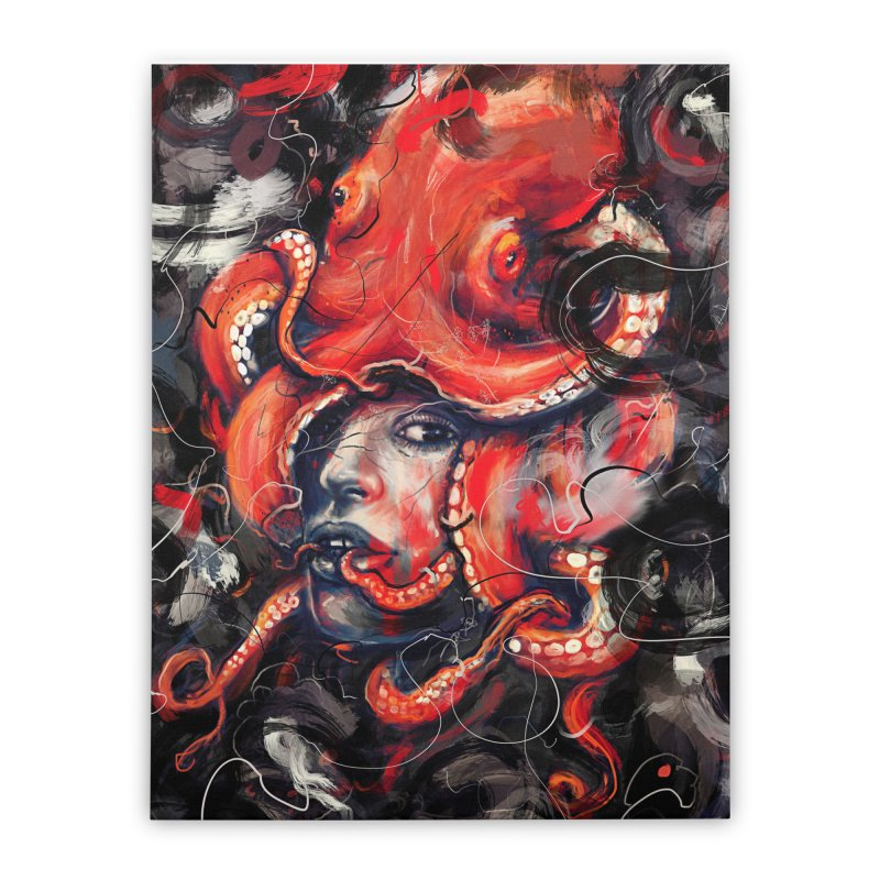 Empress Octo Home Stretched Canvas by nicebleed